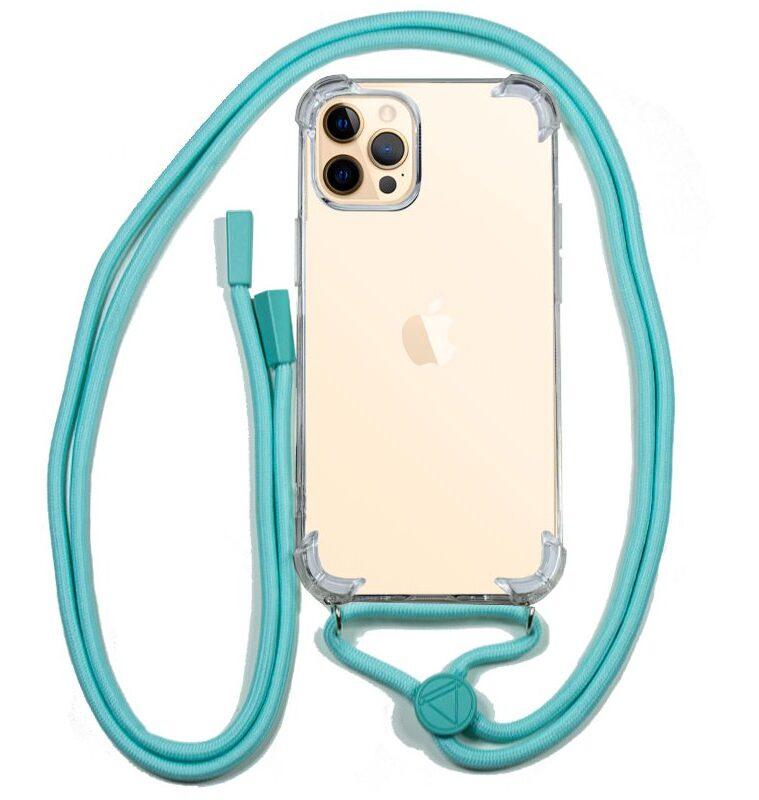 Carcasa IPhone 12 Pro Max Cordón Celeste