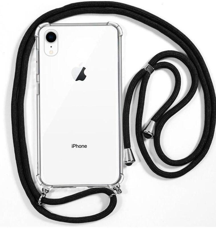Carcasa IPhone XR Cordón Negro