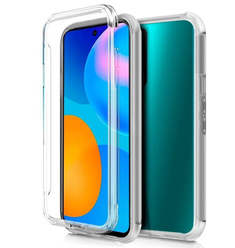 Funda Huawei P Smart 2021 (Transparente Frontal + Trasera)