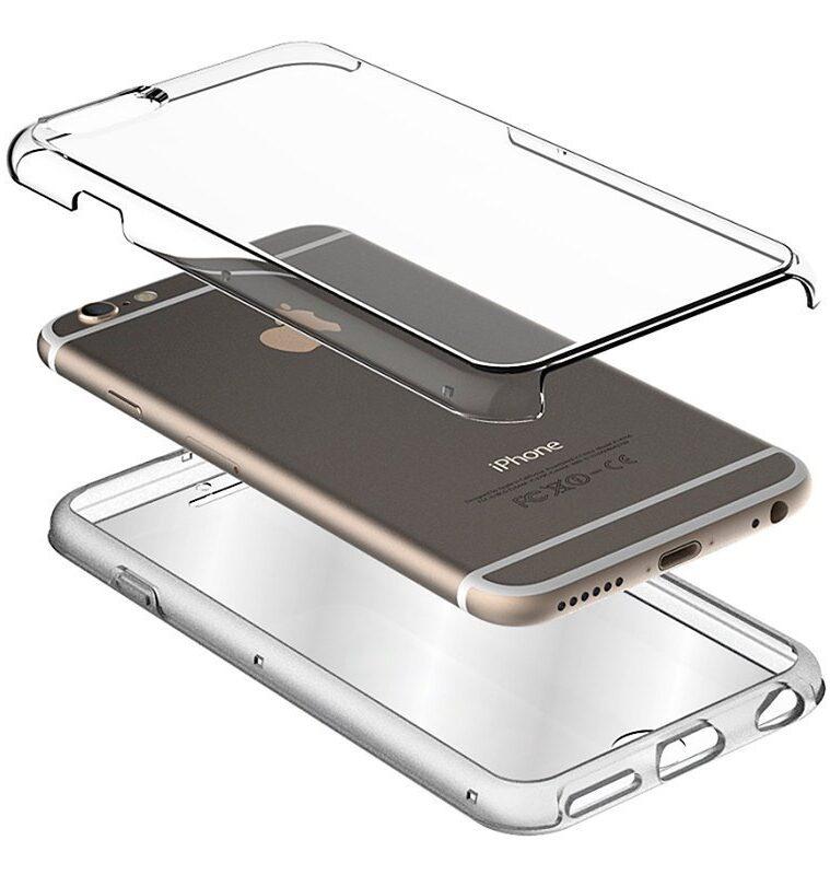 Funda Flip Cover Huawei P30 Pro (Transparente Frontal + Trasera)