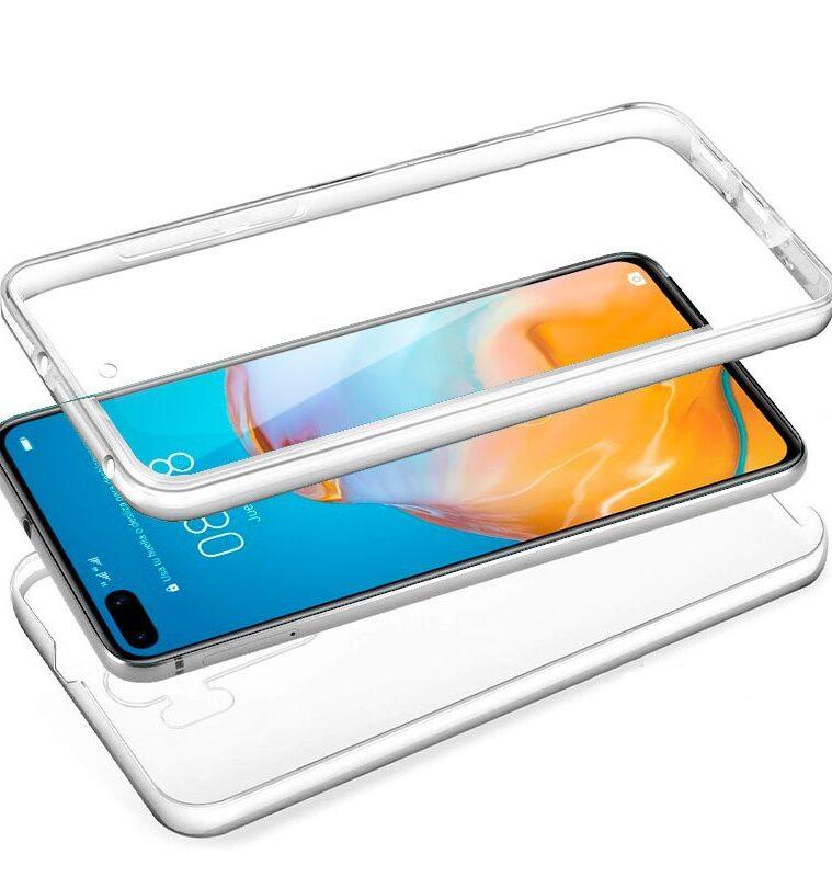 Funda Huawei P40 Pro (Transparente Frontal + Trasera)