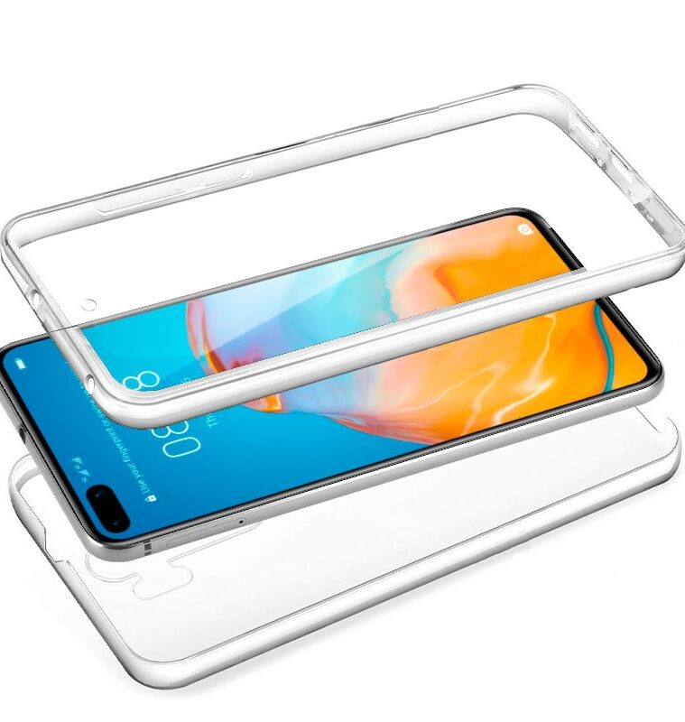 Funda Silicona 3D Para Huawei P40 (Transparente Frontal + Trasera)