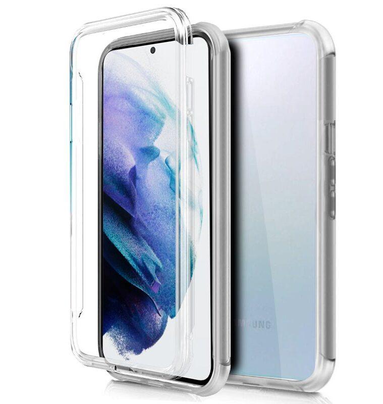 Funda Silicona 3D Samsung G996 Galaxy S21 Plus (Transparente Frontal + Trasera)