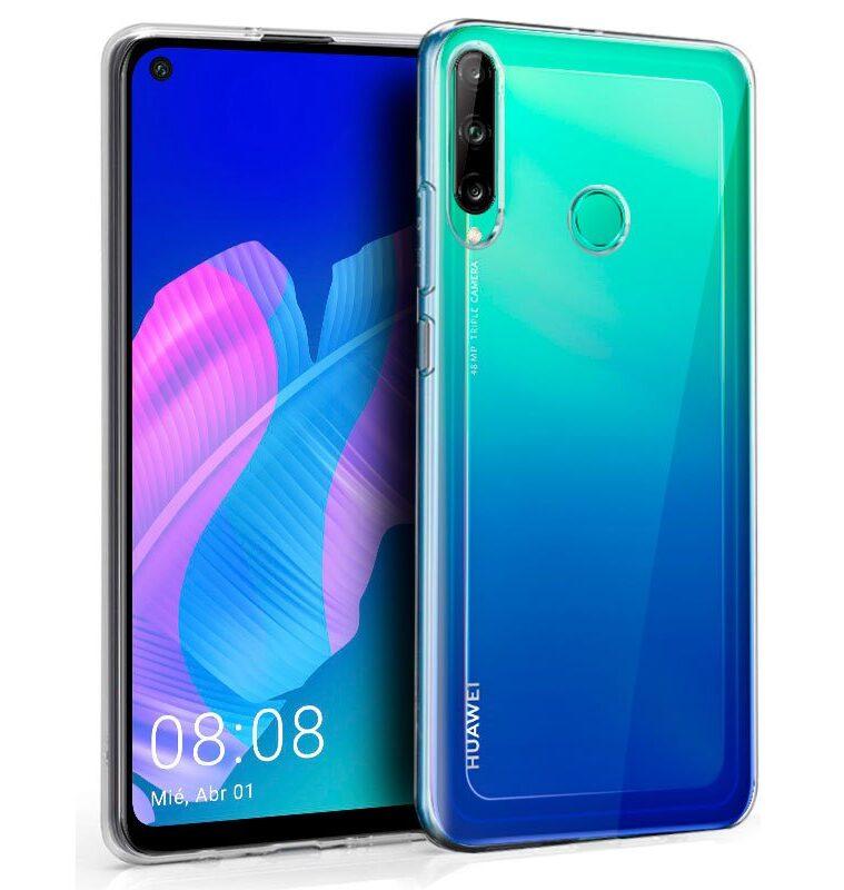 Funda Silicona Huawei P40 Lite E (Transparente)