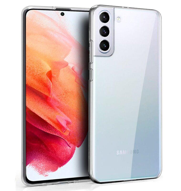 Funda Silicona Samsung G990 Galaxy S21 (Transparente)