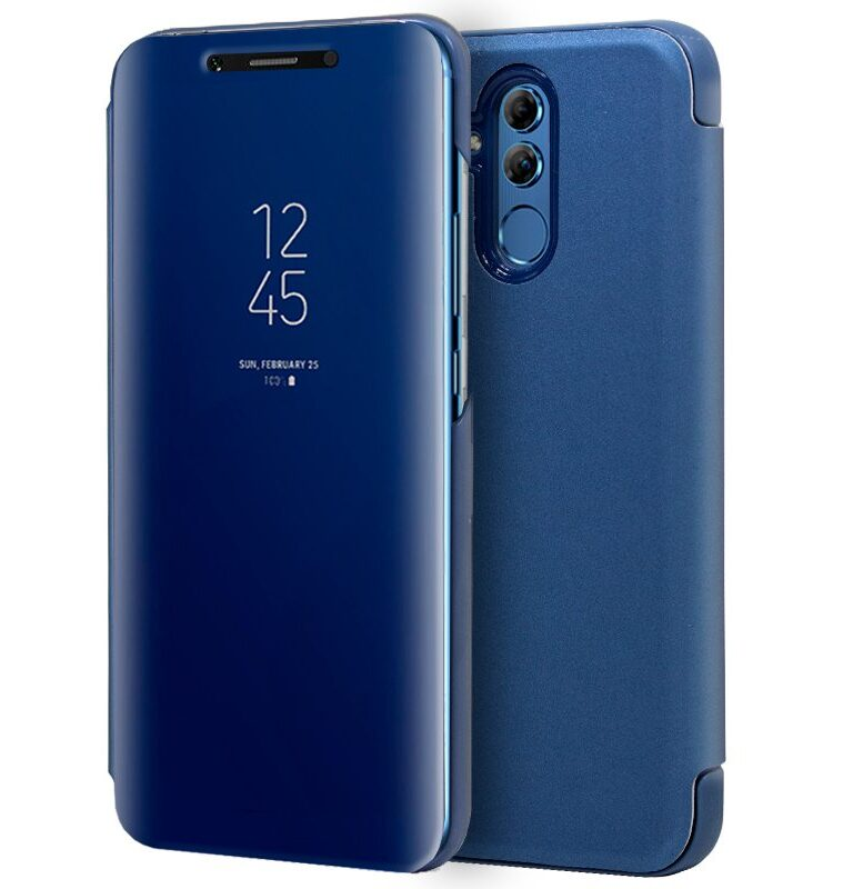 Funda Flip Cover Huawei Mate 20 Lite Clear View Azul