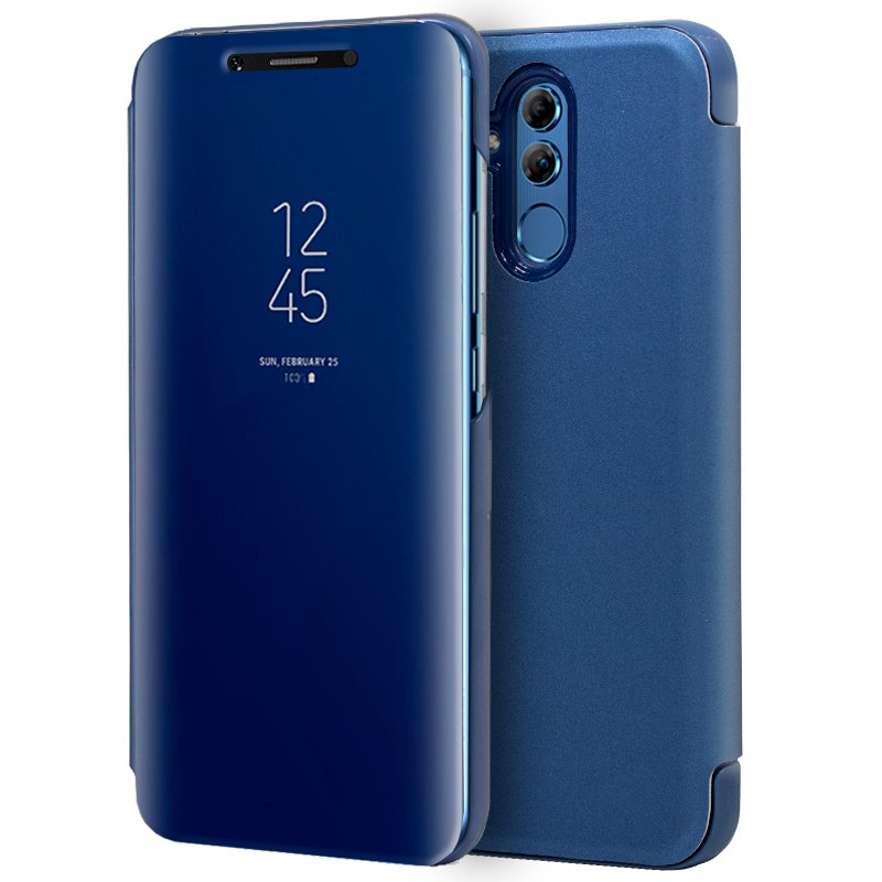 Funda Flip Cover Huawei Mate 20 Lite Clear View Azul