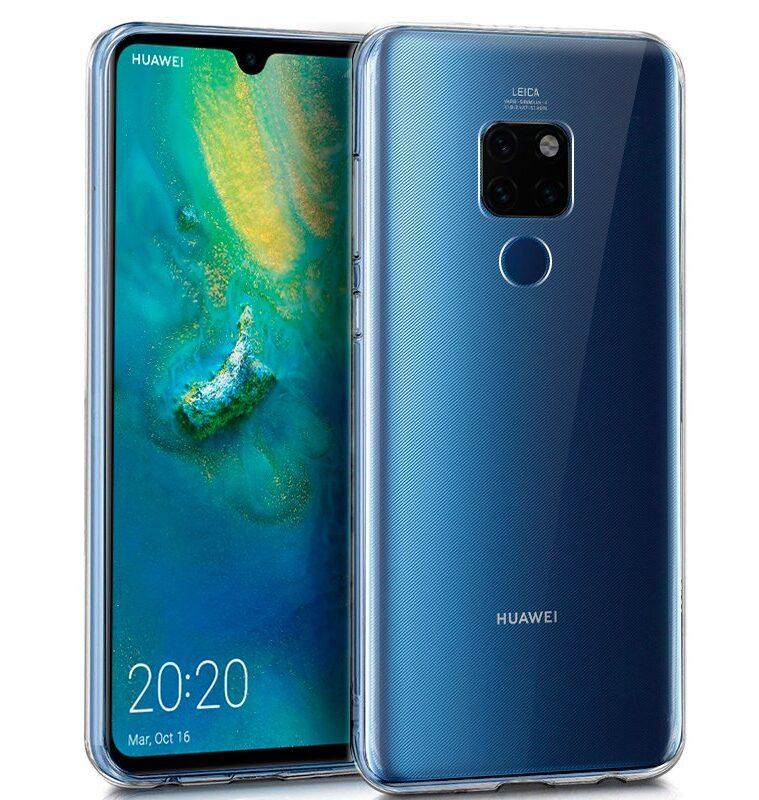 Funda Silicona Huawei Mate 20 (Transparente)