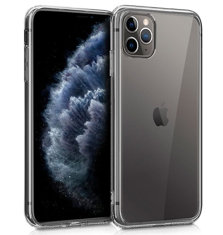 Funda Silicona IPhone 11 Pro (Transparente)