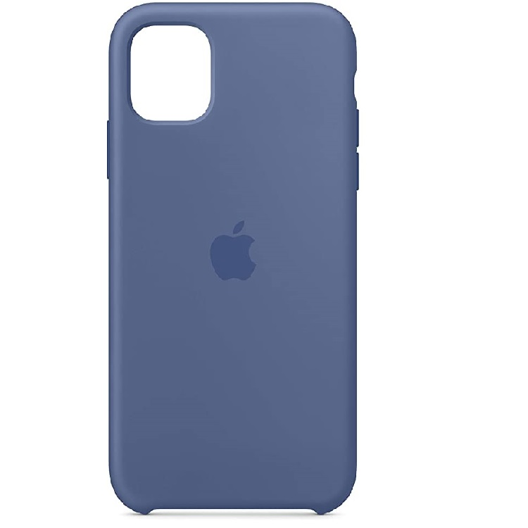 Funda Silicone Case para el iPhone 11 Azul Lino