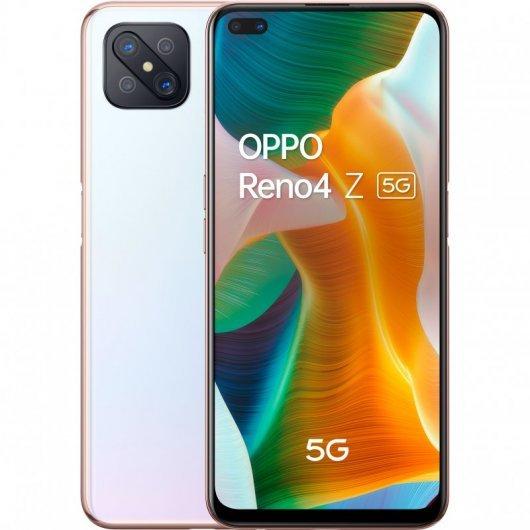 Oppo Reno 4 Z 5G 8/128GB Blanco ABIERTO POR EXHIBICIÓN