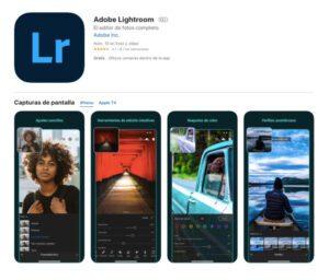 Adobe Lightroom es una aplicación de edición fotográfica con resultados profesionales.