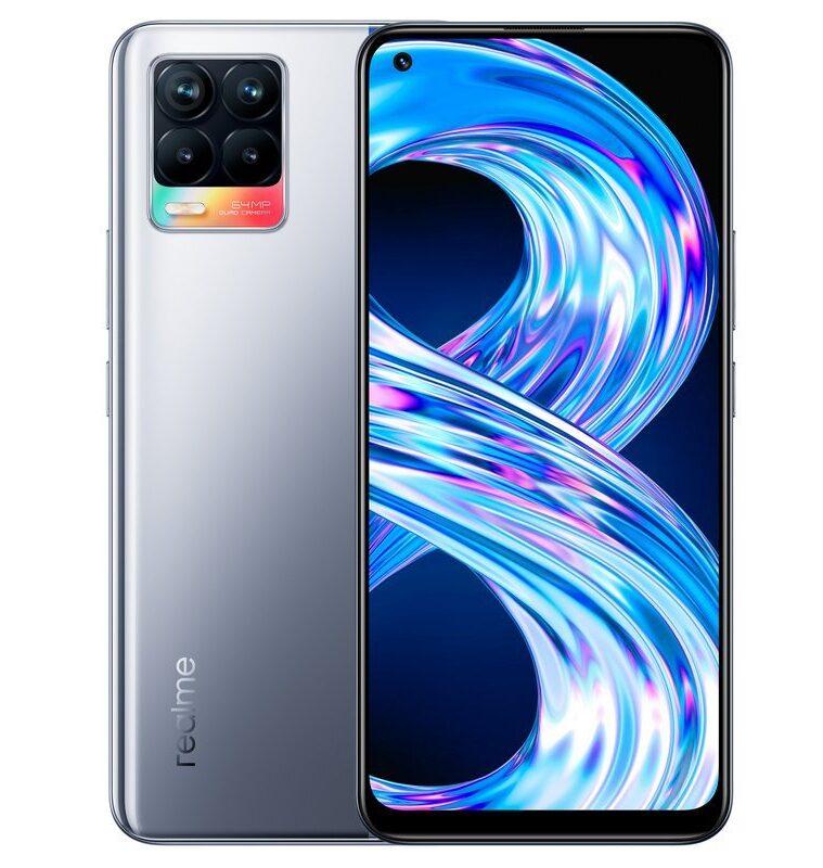 Realme 8 4G 6/128GB Plata Cyber