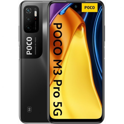 Xiaomi POCO M3 Pro 5G 4/64GB Negro